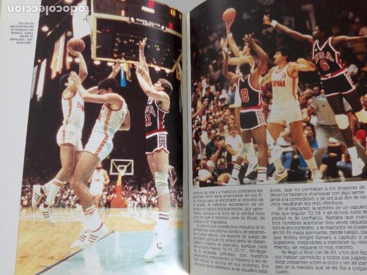 Coleccionismo deportivo: PLATA EN LOS ANGELES por Carlos Jiménez y Martín Tello (Banco Exterior de España, Madrid 1984) - Foto 9 - 184059947
