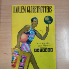 Coleccionismo deportivo: HARLEM GLOBETROTTERS, PEQUEÑA HISTORIA 1959. Lote 187191182