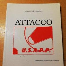 Coleccionismo deportivo: ATTACCO. REALIZZAZIONE A CURA DI STEFANO MELLER. Lote 188513036