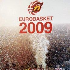 Coleccionismo deportivo: EUROBASKET 2009. FOTOS SELECCIÓN ESPAÑOLA DE BALONCESTO. Lote 188546472