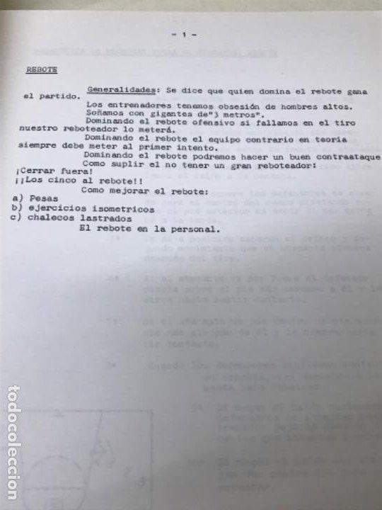 Coleccionismo deportivo: LIBRO DE APUNTES De baloncesto 1978 ANPEB antonio diaz miguel l. Carnesseca s gamba a gomez carra o - Foto 7 - 188786041