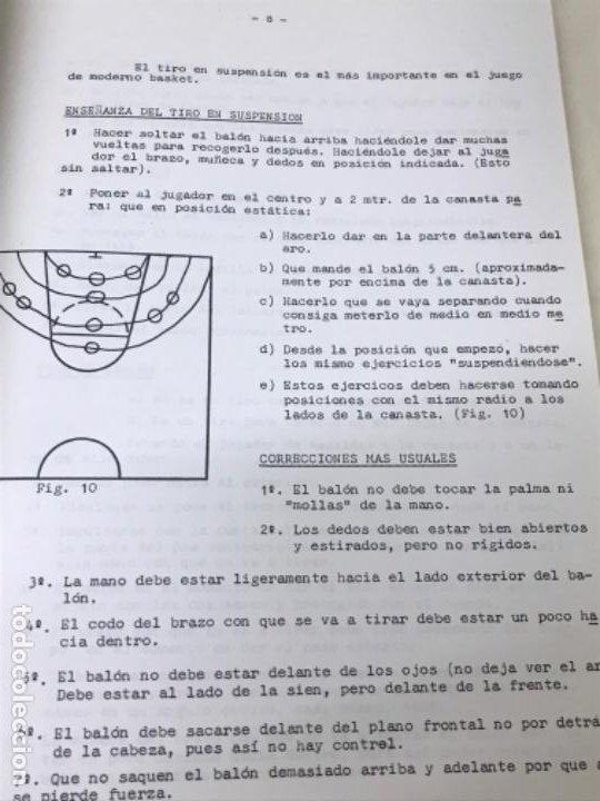 Coleccionismo deportivo: LIBRO DE APUNTES De baloncesto 1978 ANPEB antonio diaz miguel l. Carnesseca s gamba a gomez carra o - Foto 8 - 188786041