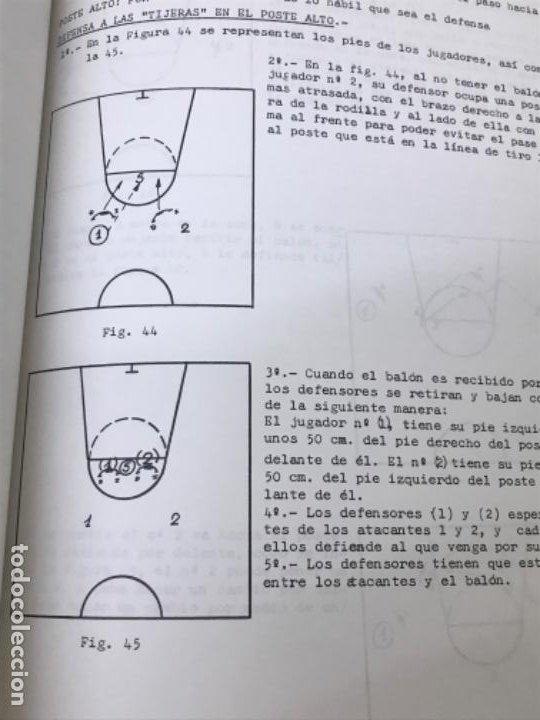 Coleccionismo deportivo: LIBRO DE APUNTES De baloncesto 1978 ANPEB antonio diaz miguel l. Carnesseca s gamba a gomez carra o - Foto 10 - 188786041