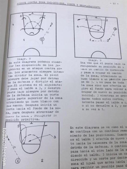 Coleccionismo deportivo: LIBRO DE APUNTES De baloncesto 1978 ANPEB antonio diaz miguel l. Carnesseca s gamba a gomez carra o - Foto 14 - 188786041
