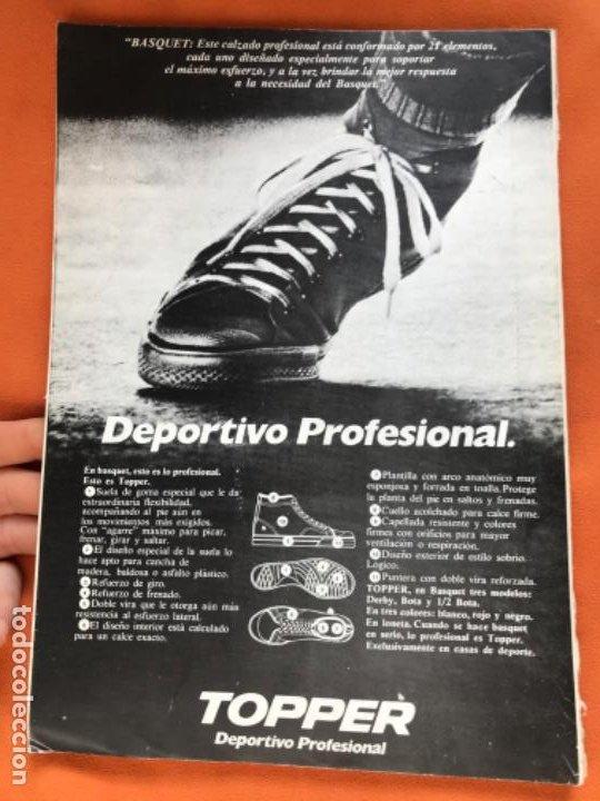 Coleccionismo deportivo: Tecnico en basquetbol 1977 revista de baloncesto asociacion oficial tecnicos argentina basket n 7 - Foto 2 - 189165122