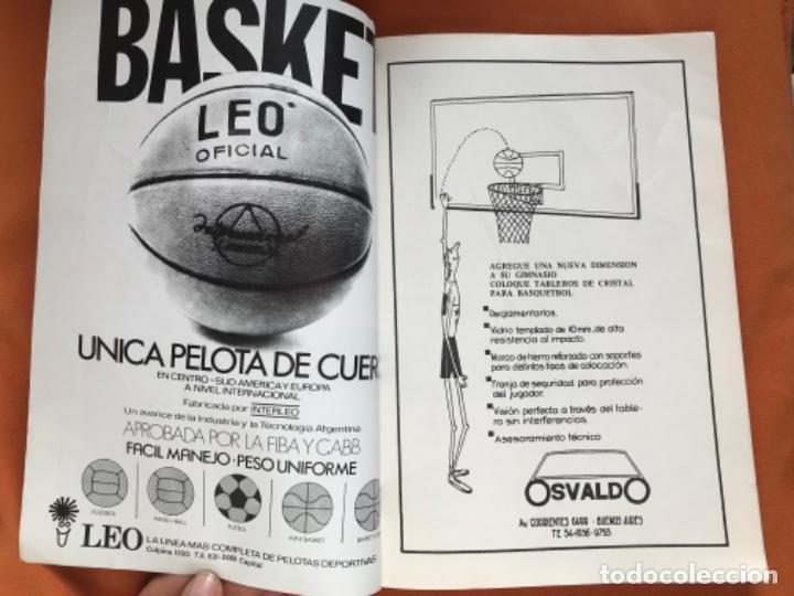 Coleccionismo deportivo: Tecnico en basquetbol 1977 revista de baloncesto asociacion oficial tecnicos argentina basket n 7 - Foto 3 - 189165122