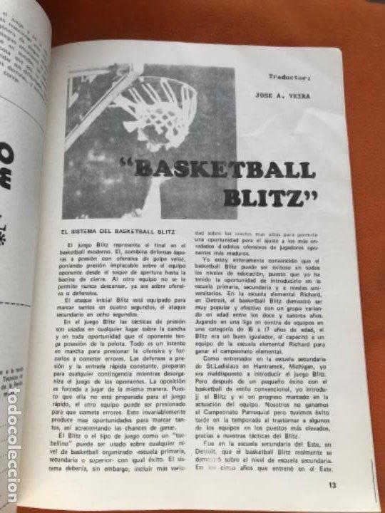 Coleccionismo deportivo: Tecnico en basquetbol 1977 revista de baloncesto asociacion oficial tecnicos argentina basket n 7 - Foto 7 - 189165122
