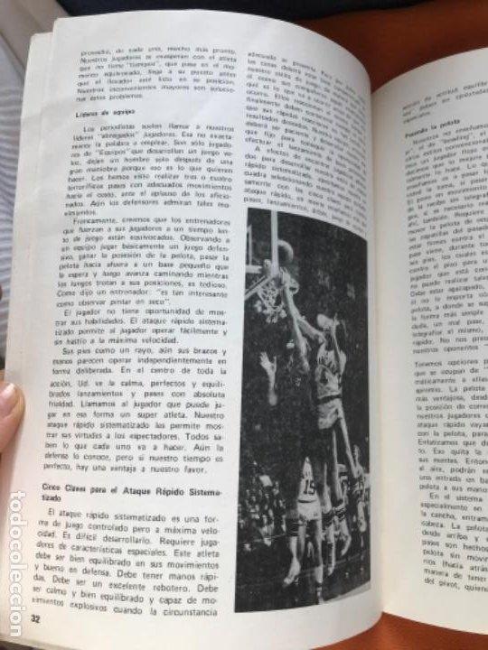 Coleccionismo deportivo: Tecnico en basquetbol 1977 revista de baloncesto asociacion oficial tecnicos argentina basket n 7 - Foto 9 - 189165122