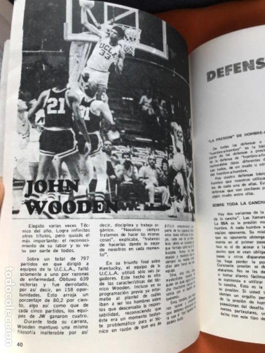 Coleccionismo deportivo: Tecnico en basquetbol 1977 revista de baloncesto asociacion oficial tecnicos argentina basket n 7 - Foto 10 - 189165122