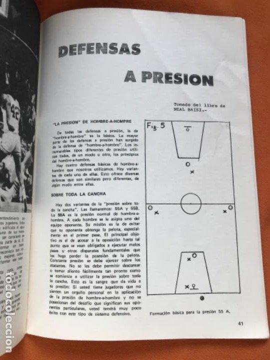 Coleccionismo deportivo: Tecnico en basquetbol 1977 revista de baloncesto asociacion oficial tecnicos argentina basket n 7 - Foto 11 - 189165122