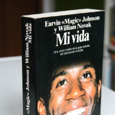 Coleccionismo deportivo: EARVIN MAGIC JOHNSON Y W.NOVAK - MI VIDA - PLANETA. Lote 189533060