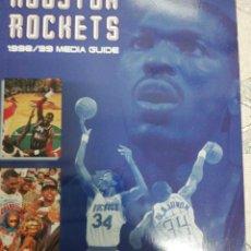 Coleccionismo deportivo: HOUSTON ROCKETS 1998-99 GUIA. Lote 190869406