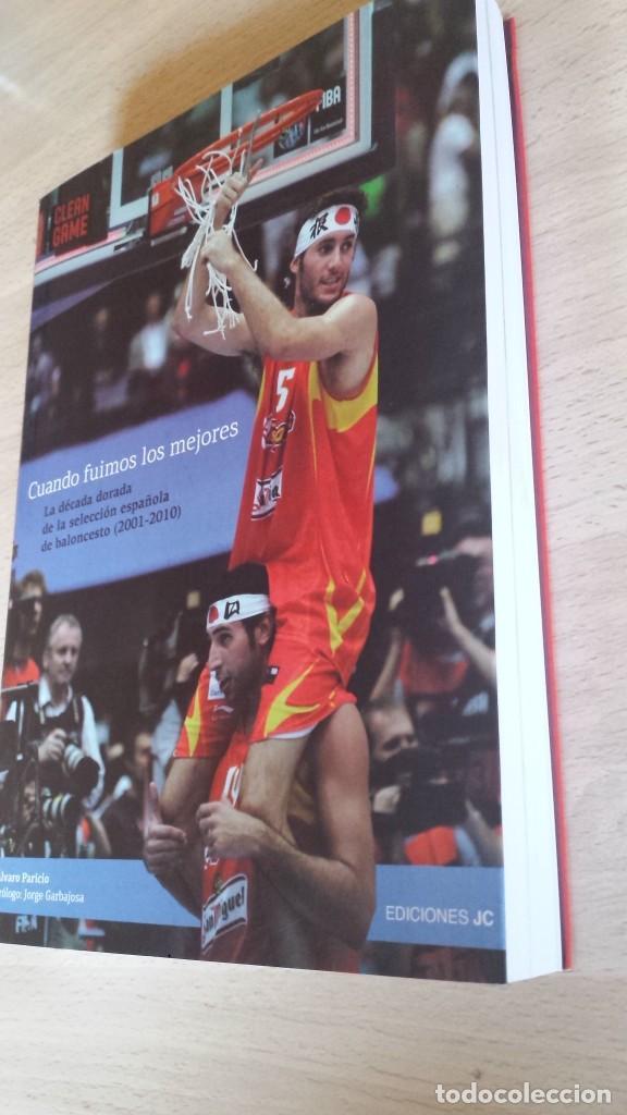 Coleccionismo deportivo: Cuando fuimos los mejores. La década dorada de la selección española de baloncesto (2001-2010) - Foto 2 - 190925527