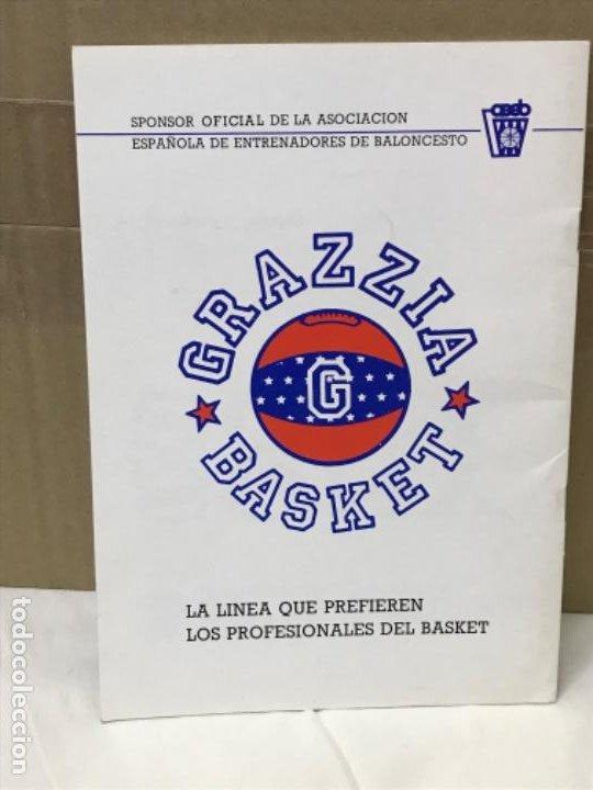 Coleccionismo deportivo: Baloncesto federacion española de baloncesto programa de actividades tecnicas mundobasker españa 86 - Foto 2 - 191244238