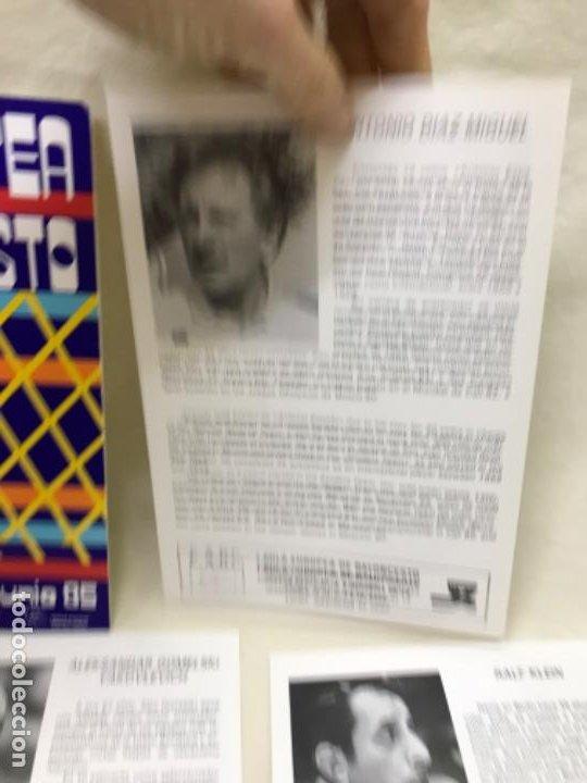 Coleccionismo deportivo: I aula española del baloncesto cadiz 1985 basket programa general y fichas 8 entrenadores - Foto 4 - 191610085