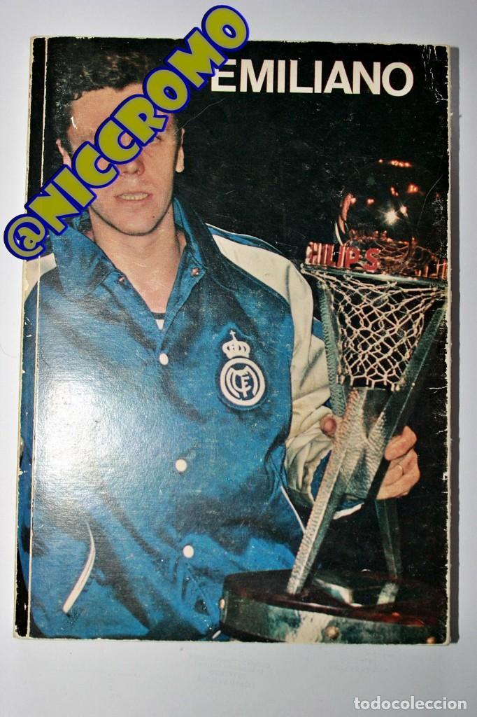 BALONCESTO EMILIANO REAL MADRID 1953 1973 LOS 20 AÑOS VIDA DEPORTIVA CON FIRMA EMILIANO NICCROMO (Coleccionismo Deportivo - Libros de Baloncesto)