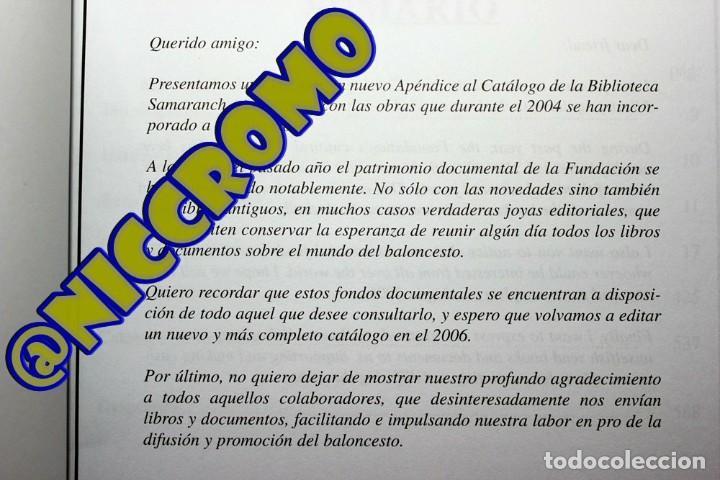 Coleccionismo deportivo: Fundación Pedro ferrandiz catálogo 2005 baloncesto biblioteca samaranch 590 paginas niccromo - Foto 3 - 191778648