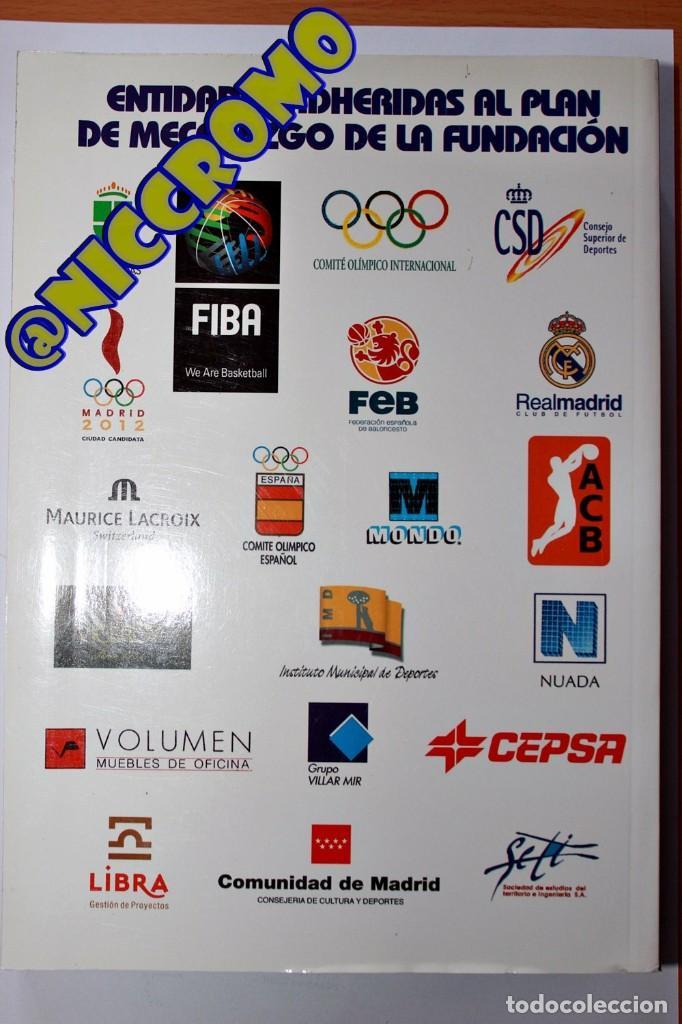 Coleccionismo deportivo: Fundación Pedro ferrandiz catálogo 2005 baloncesto biblioteca samaranch 590 paginas niccromo - Foto 5 - 191778648