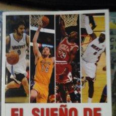 Coleccionismo deportivo: EL SUEÑO DE MI DESVELO. HISTORIAS NOCTURNAS E IMBORRABLES DE LA NBA (BARCELONA, 2013). Lote 192251782