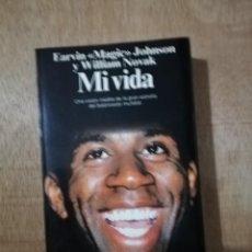 Coleccionismo deportivo: MI VIDA. MAGIC JOHNSON Y WILLIAM NOVAK. Lote 194230060