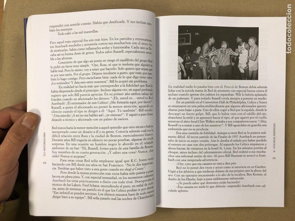 Coleccionismo deportivo: 101 HISTORIAS NBA, RELATOS DE GLORIA Y TRAGEDIA. GONZALO VÁZQUEZ. EDICIONES JC 2013. - Foto 4 - 195764256