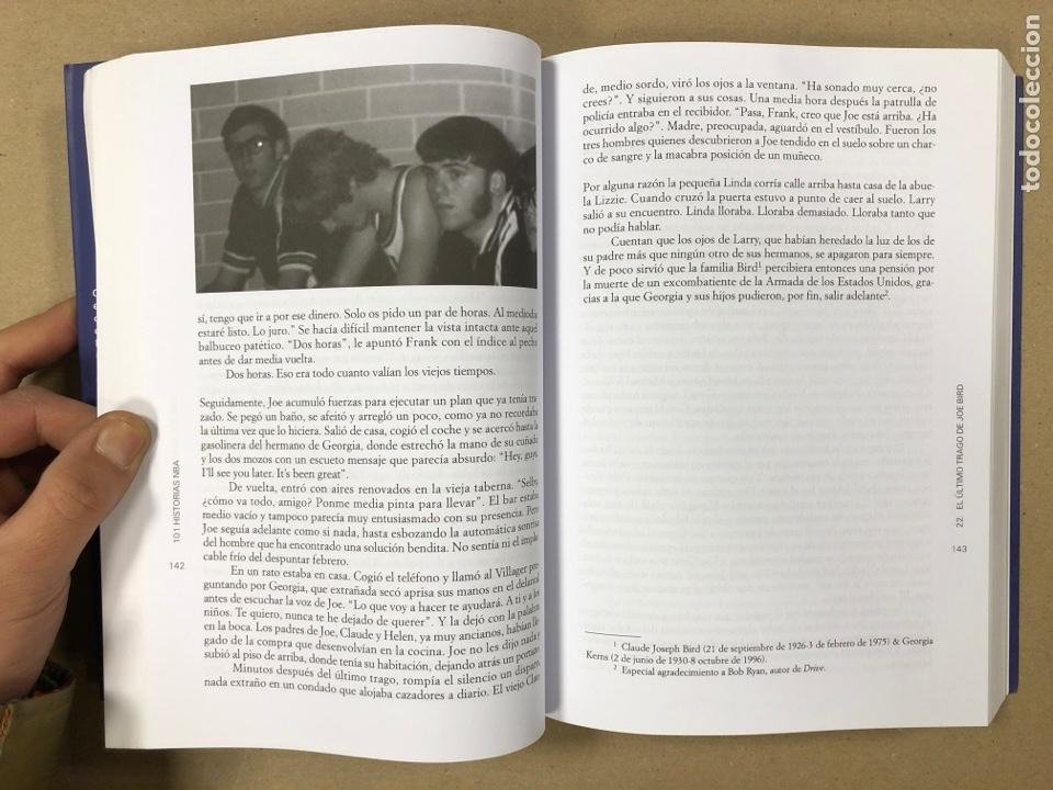 Coleccionismo deportivo: 101 HISTORIAS NBA, RELATOS DE GLORIA Y TRAGEDIA. GONZALO VÁZQUEZ. EDICIONES JC 2013. - Foto 5 - 195764256
