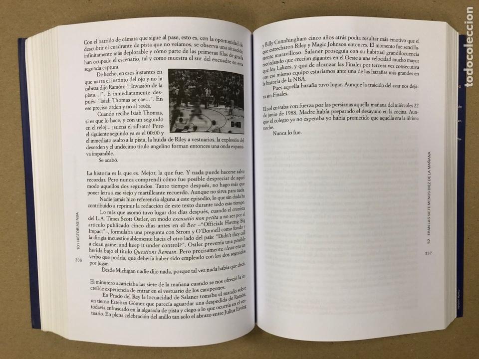 Coleccionismo deportivo: 101 HISTORIAS NBA, RELATOS DE GLORIA Y TRAGEDIA. GONZALO VÁZQUEZ. EDICIONES JC 2013. - Foto 6 - 195764256