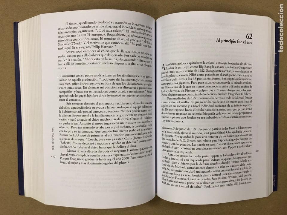 Coleccionismo deportivo: 101 HISTORIAS NBA, RELATOS DE GLORIA Y TRAGEDIA. GONZALO VÁZQUEZ. EDICIONES JC 2013. - Foto 7 - 195764256