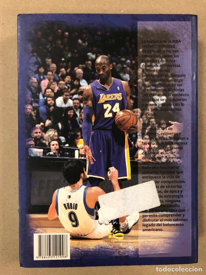 Coleccionismo deportivo: 101 HISTORIAS NBA, RELATOS DE GLORIA Y TRAGEDIA. GONZALO VÁZQUEZ. EDICIONES JC 2013. - Foto 8 - 195764256