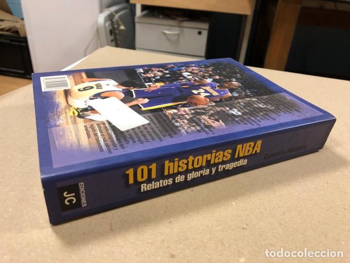 Coleccionismo deportivo: 101 HISTORIAS NBA, RELATOS DE GLORIA Y TRAGEDIA. GONZALO VÁZQUEZ. EDICIONES JC 2013. - Foto 9 - 195764256