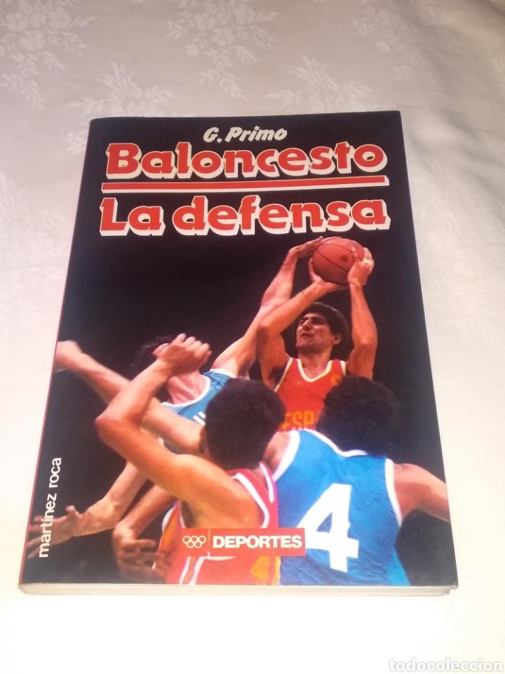 Coleccionismo deportivo: LOTE LIBROS BALONCESTO. LA DEFENSA Y EL ATAQUE DE G.PRIMO Y EL ENTRENADOR DE BALONCESTO. - Foto 2 - 195775902