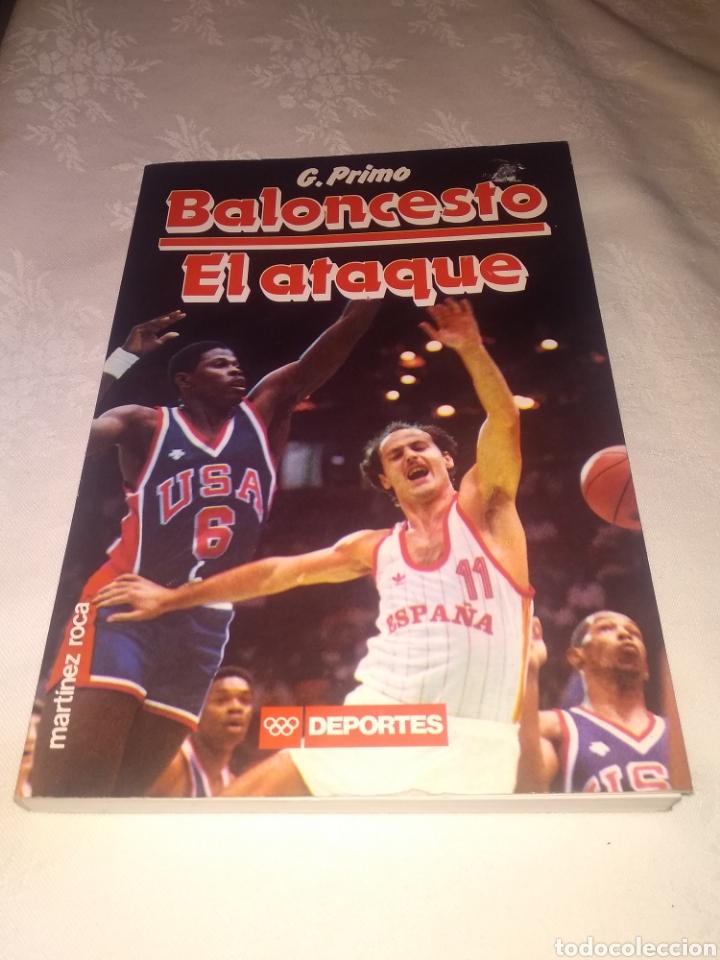 Coleccionismo deportivo: LOTE LIBROS BALONCESTO. LA DEFENSA Y EL ATAQUE DE G.PRIMO Y EL ENTRENADOR DE BALONCESTO. - Foto 4 - 195775902