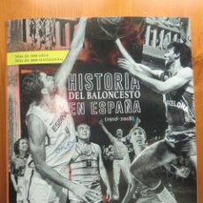 Coleccionismo deportivo: LIBRO HISTORIA DEL BALONCESTO EN ESPAÑA (1910-2018) 3ª EDICIÓN AMPLIADA, DE CARLOS JIMÉNEZ POYATO. Lote 195878680