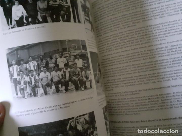Coleccionismo deportivo: Libro 75 Años de Historia del Baloncesto Andaluz Editado por la Junta de Andalucía y Federación And - Foto 3 - 195970168