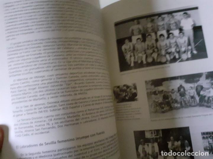 Coleccionismo deportivo: Libro 75 Años de Historia del Baloncesto Andaluz Editado por la Junta de Andalucía y Federación And - Foto 4 - 195970168