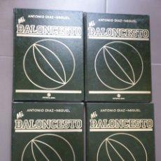 Coleccionismo deportivo: LIBROS MI BALONCESTO ANTONIO DIAZ MIGUEL COMPLETA. Lote 196500917