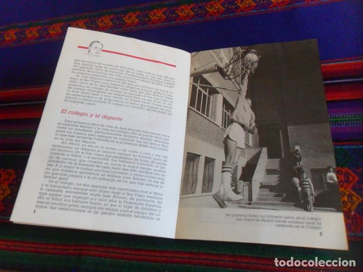 Coleccionismo deportivo: REAL MADRID CORBALÁN EL BALONCESTO ES SU VIDA. EDICIONES SIGLO CULTURAL 1986. 31 PGNS ILUSTRADAS. - Foto 4 - 197119575