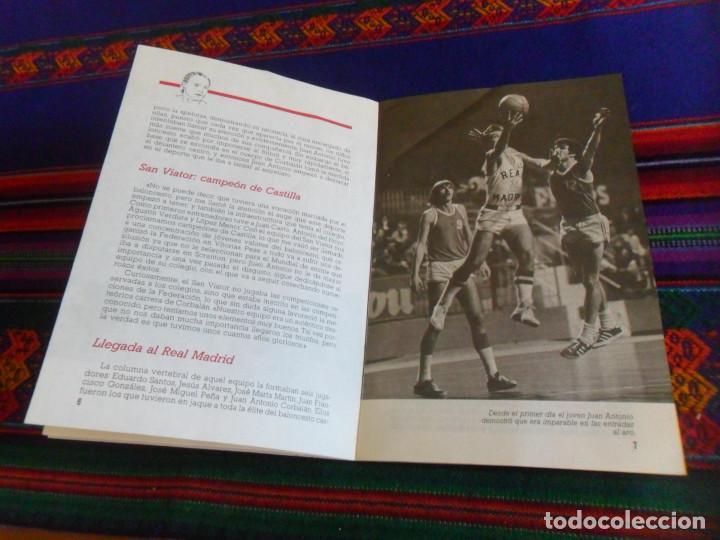 Coleccionismo deportivo: REAL MADRID CORBALÁN EL BALONCESTO ES SU VIDA. EDICIONES SIGLO CULTURAL 1986. 31 PGNS ILUSTRADAS. - Foto 5 - 197119575