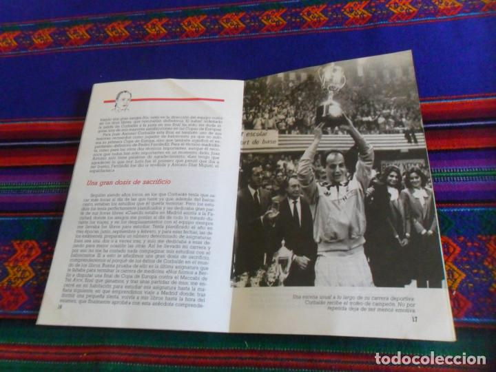 Coleccionismo deportivo: REAL MADRID CORBALÁN EL BALONCESTO ES SU VIDA. EDICIONES SIGLO CULTURAL 1986. 31 PGNS ILUSTRADAS. - Foto 6 - 197119575