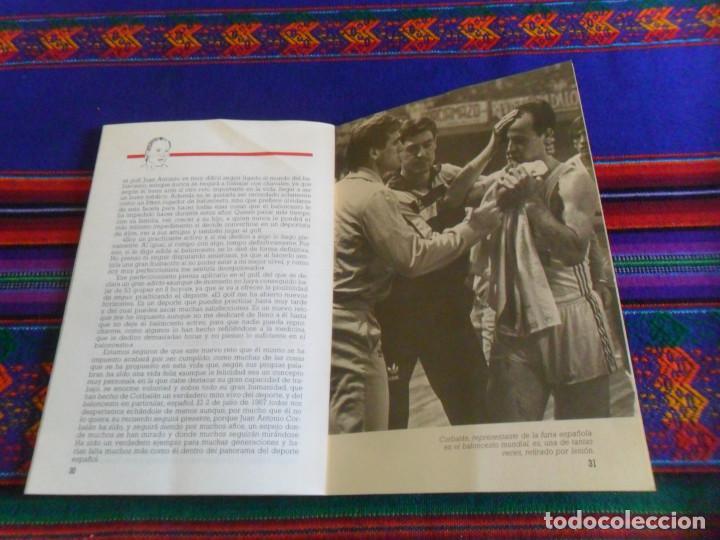 Coleccionismo deportivo: REAL MADRID CORBALÁN EL BALONCESTO ES SU VIDA. EDICIONES SIGLO CULTURAL 1986. 31 PGNS ILUSTRADAS. - Foto 8 - 197119575