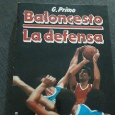 Coleccionismo deportivo: BALONCESTO. LA DEFENSA . G.PRIMO .MARTINEZ ROCA .. Lote 201647962