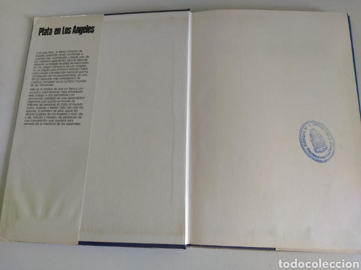 Coleccionismo deportivo: PLATA EN LOS ANGELES por Carlos Jiménez y Martín Tello (Banco Exterior de España, Madrid 1984) - Foto 12 - 184059947