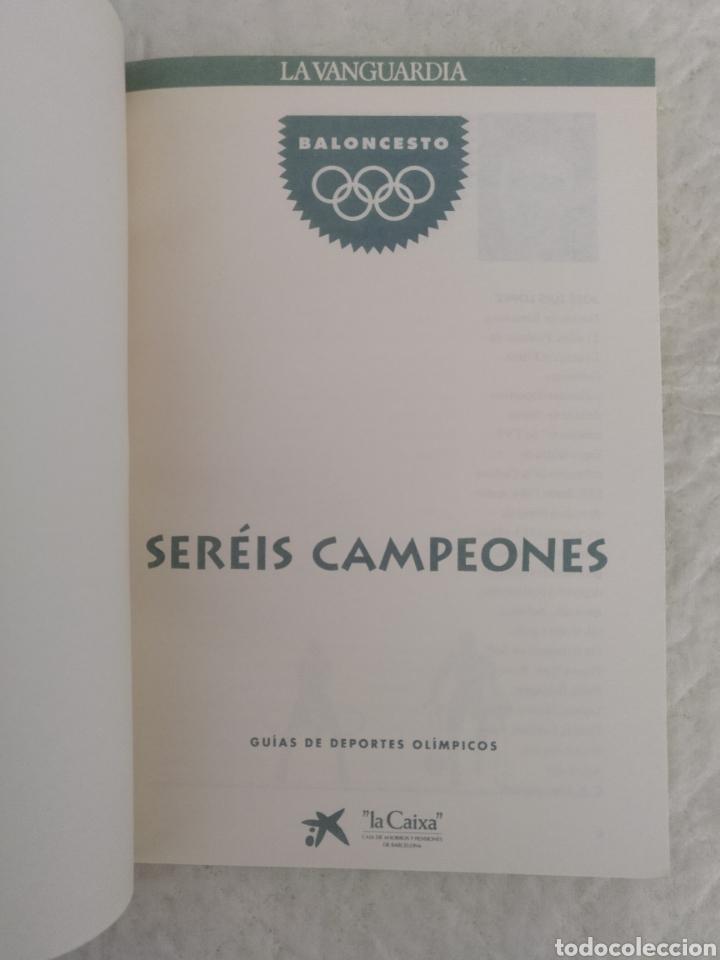 Coleccionismo deportivo: Baloncesto. Guía deportes olímpicos. Seréis campeones 3. La vanguardia, 1991. Libro - Foto 2 - 205032240