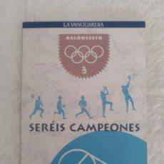 Coleccionismo deportivo: BALONCESTO. GUÍA DEPORTES OLÍMPICOS. SERÉIS CAMPEONES 3. LA VANGUARDIA, 1991. LIBRO. Lote 205032240