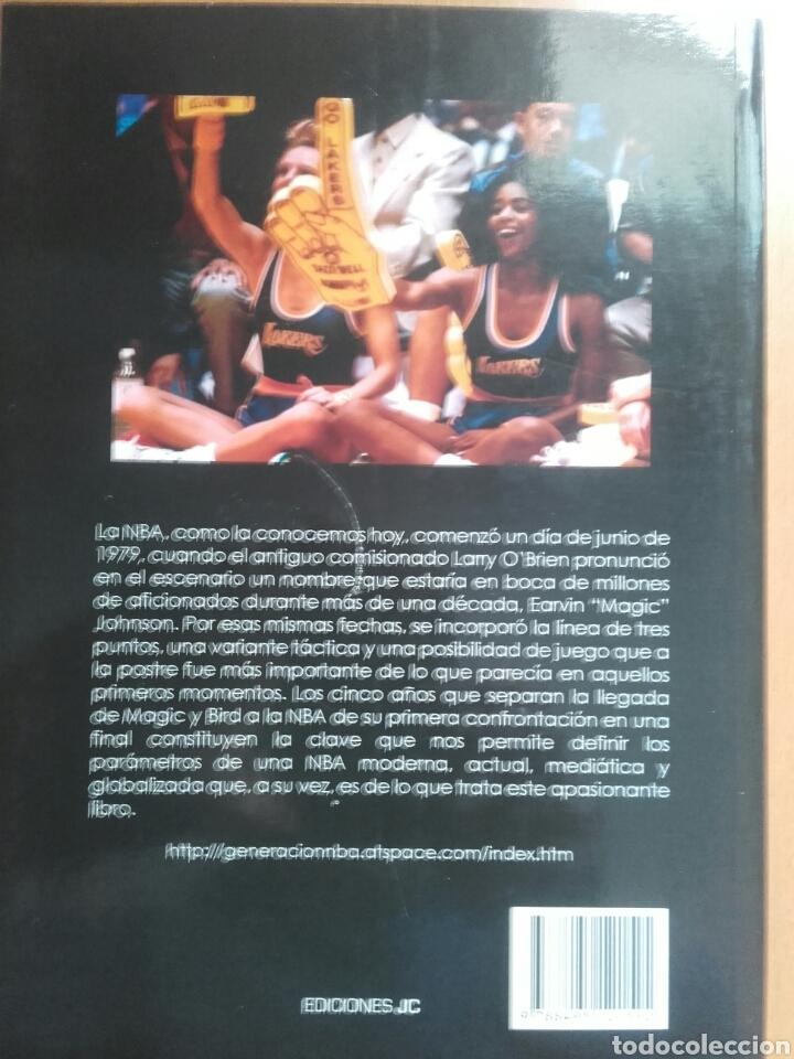 Coleccionismo deportivo: Libro generación nba - Foto 2 - 205692068