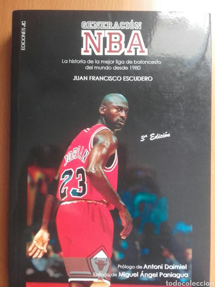 LIBRO GENERACIÓN NBA (Coleccionismo Deportivo - Libros de Baloncesto)
