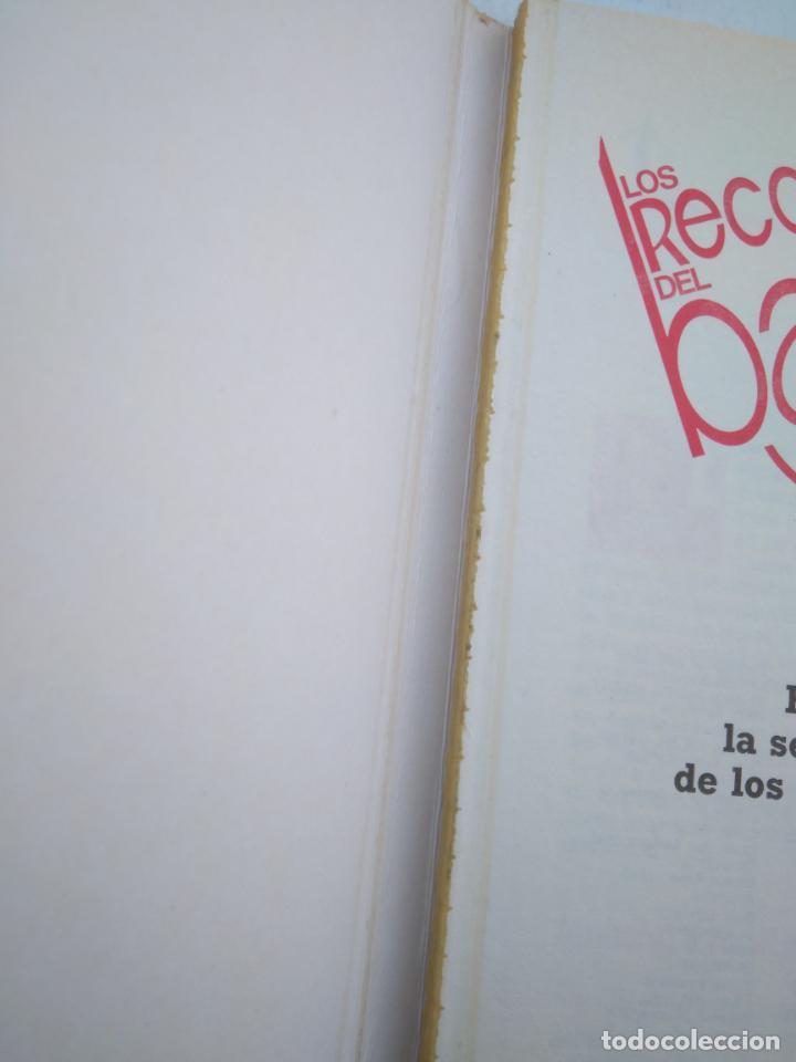 Coleccionismo deportivo: LOS RECORDS DEL BASKET, ESPAÑA LA SELECCION DE LOS MEJORES - ED. SIGLO CULTURAL - 1986 - 85 PAGINAS - Foto 2 - 206262893