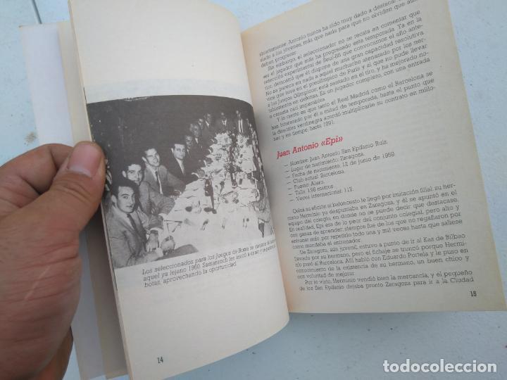 Coleccionismo deportivo: LOS RECORDS DEL BASKET, ESPAÑA LA SELECCION DE LOS MEJORES - ED. SIGLO CULTURAL - 1986 - 85 PAGINAS - Foto 6 - 206262893