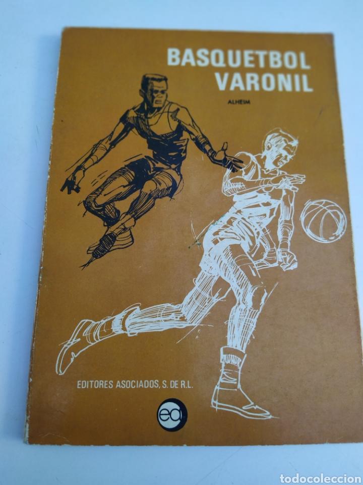 BASQUETBOL VARONIL WILLIAN R ALHEIM 1971 (Coleccionismo Deportivo - Libros de Baloncesto)