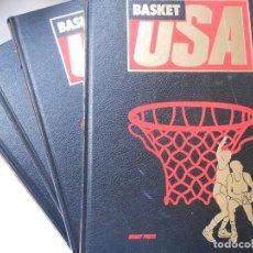 Coleccionismo deportivo: BASKET USA - 4 TOMOS - HOBBY PRESS - 1986 - 4 TOMOS - COMPLETA. Lote 207469213
